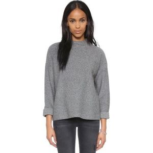 Ribbed Mock Neck Sweater - Madewell